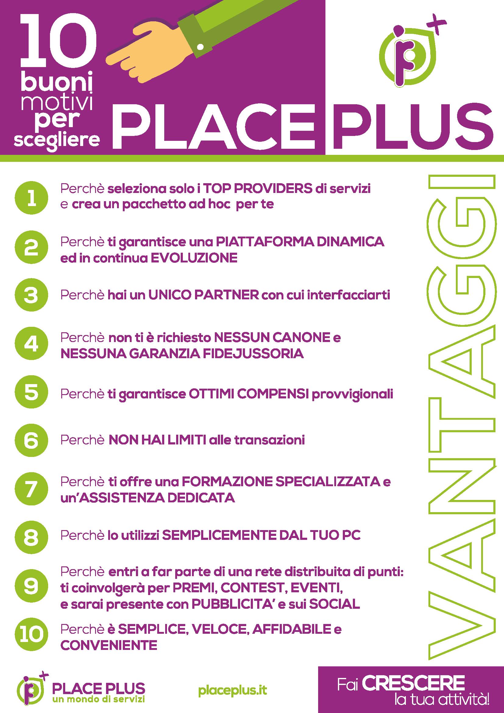 PlacePlus_Vantaggi